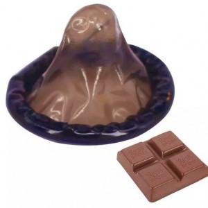 Préservatif au Chocolat