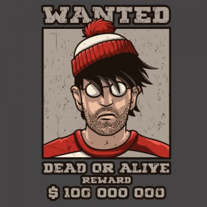 T-shirt - Où est Charlie ?