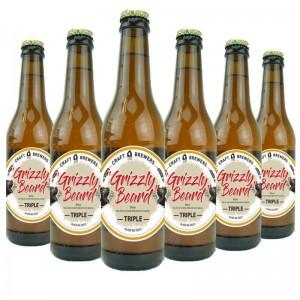 Bière blonde - Grizzly Beard Triple 0,33cl