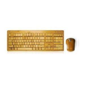 Souris clavier en bambou