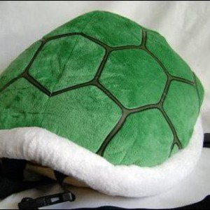 Le sac à dos coquille verte koopa