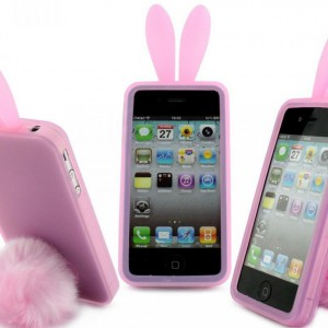 Coque iPhone lapin