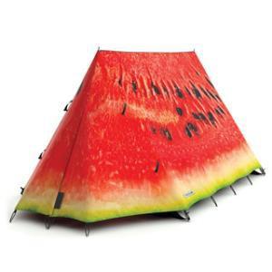 Tente de camping pastèque
