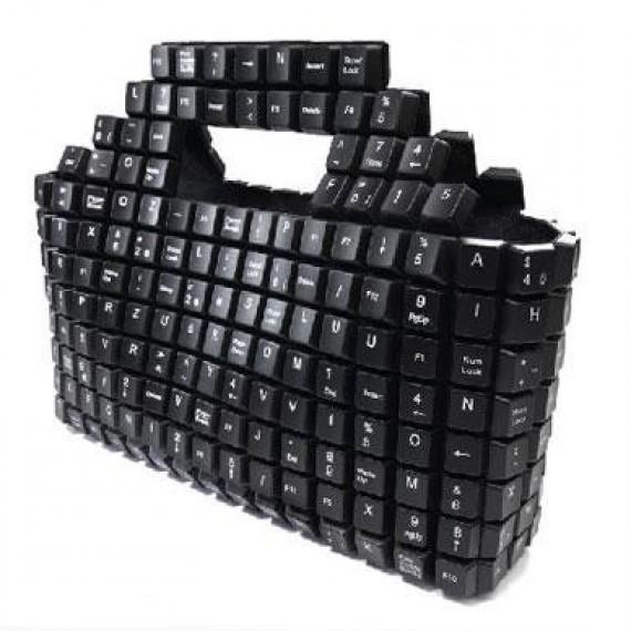 Sac à main clavier