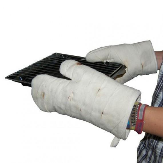 Gants de cuisine bandage