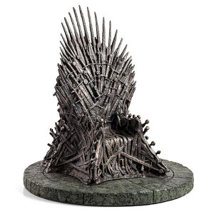 Réplique du trône de fer de Game of Thrones