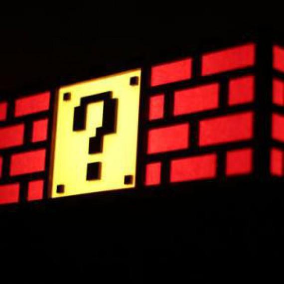 Lampe bloc Super Mario