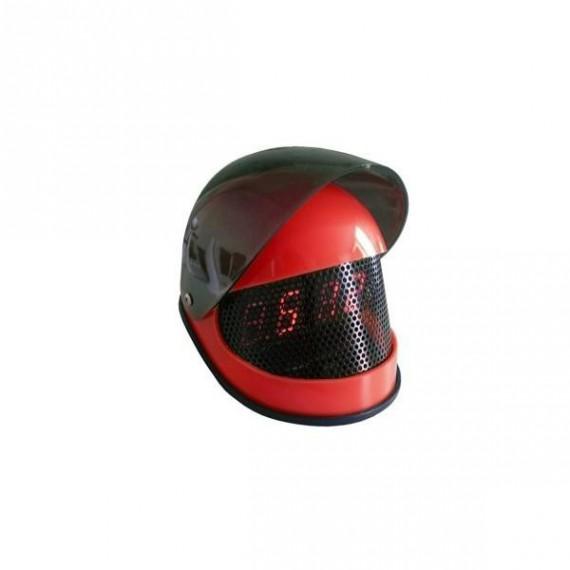Réveil casque de moto