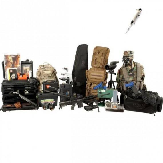 Le kit d'extermination zombie