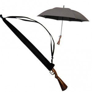 Le parapluie fusil de chasse