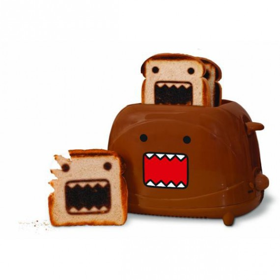 Le grille pain toaster Domo Kun