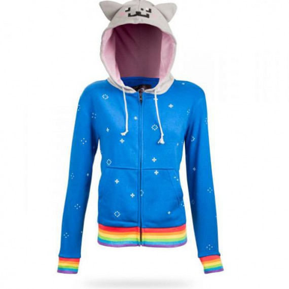 Le sweat à capuche Nyan Cat