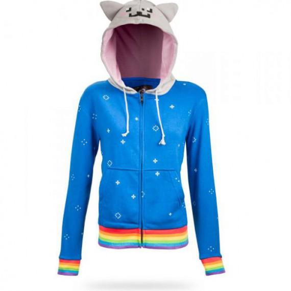 Le sweat à capuche Nyan Cat