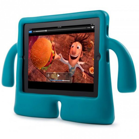 La protection iPad iGuy bonhomme