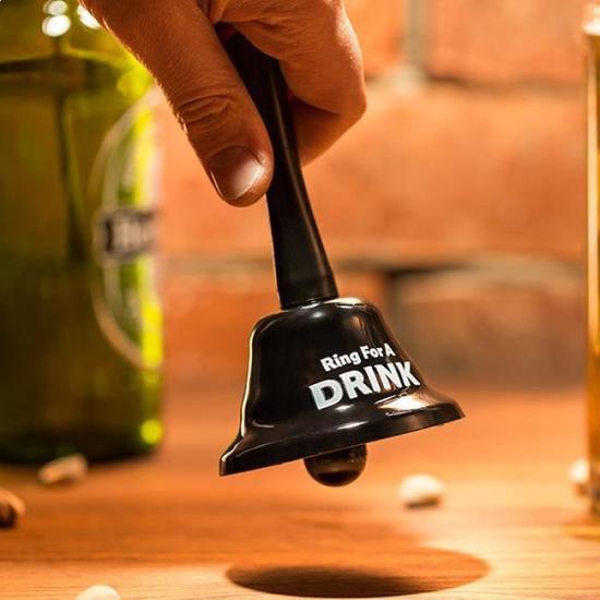 Clochette ring for drink