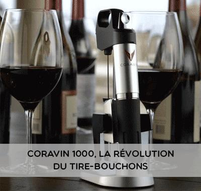 Coravin 1000, la Révolution du Tire-bouchons