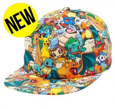 Casquette Pokemon Family Nintendo