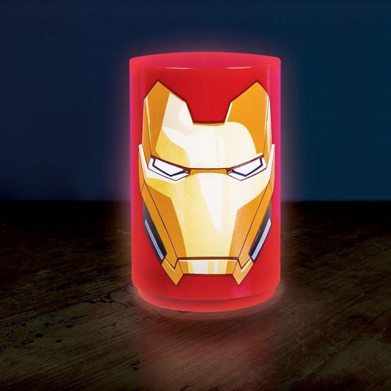 lampe iron man sonore