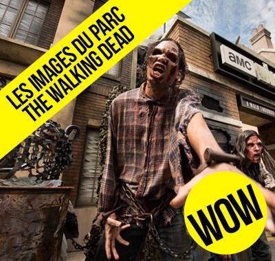 Immersion au coeur de l'attraction de The Walking Dead les premières images enfin disponibles