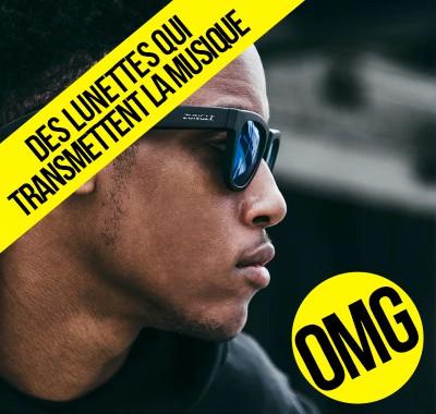 Zungle les lunettes bluetooth qui transmettent la musique directement dans votre tête par voie osseuse
