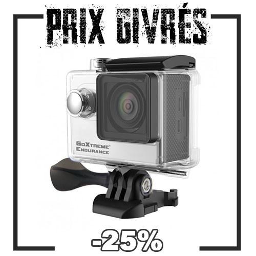 Soldes givrées sur les cameras GoXtrem