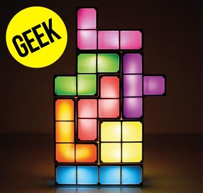 Lampe Tetris Blocs