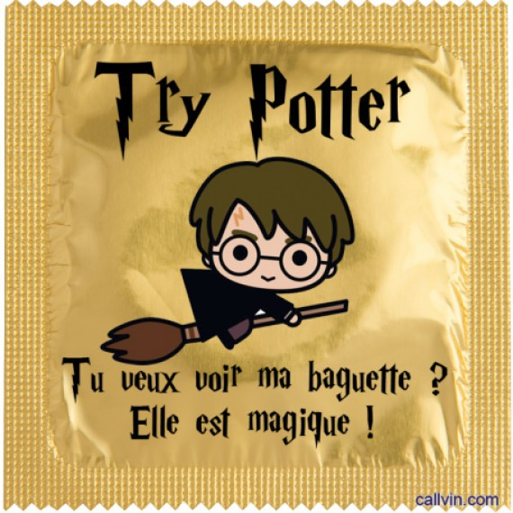 Préservatif harry potter le try potter