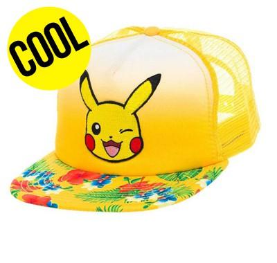 Casquette Tropicale Pikachu