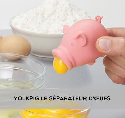 Yolkpig Le Séparateur d'œufs